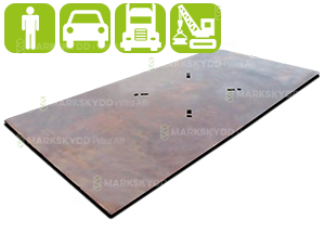 Kjøreplater i stål