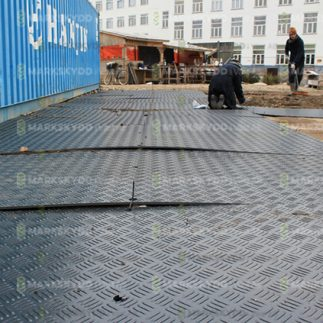 construction site flooring container